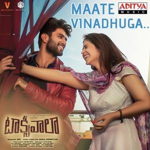 Maate Vinadhuga Lyrics - Taxiwaala
