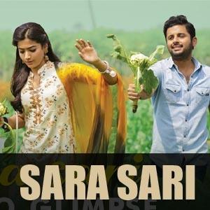 Sara Sari Song Lyrics Bheeshma Anurag Kulkarni Nithin Rashmika